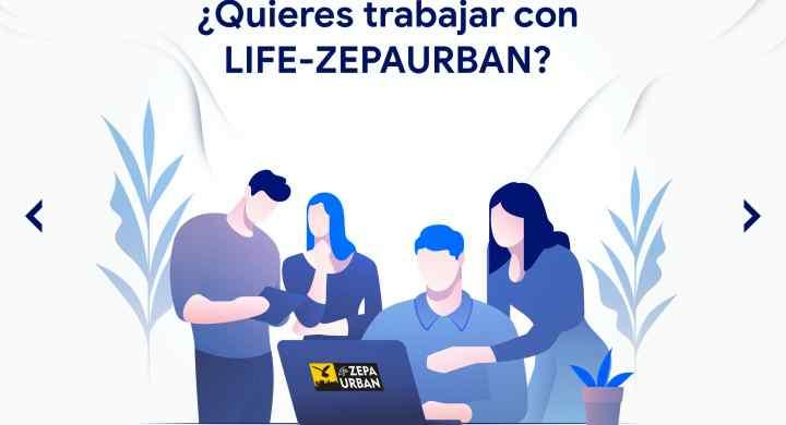 ¿Quieres trabajar en el proyecto LIFE-ZEPAURBAN?